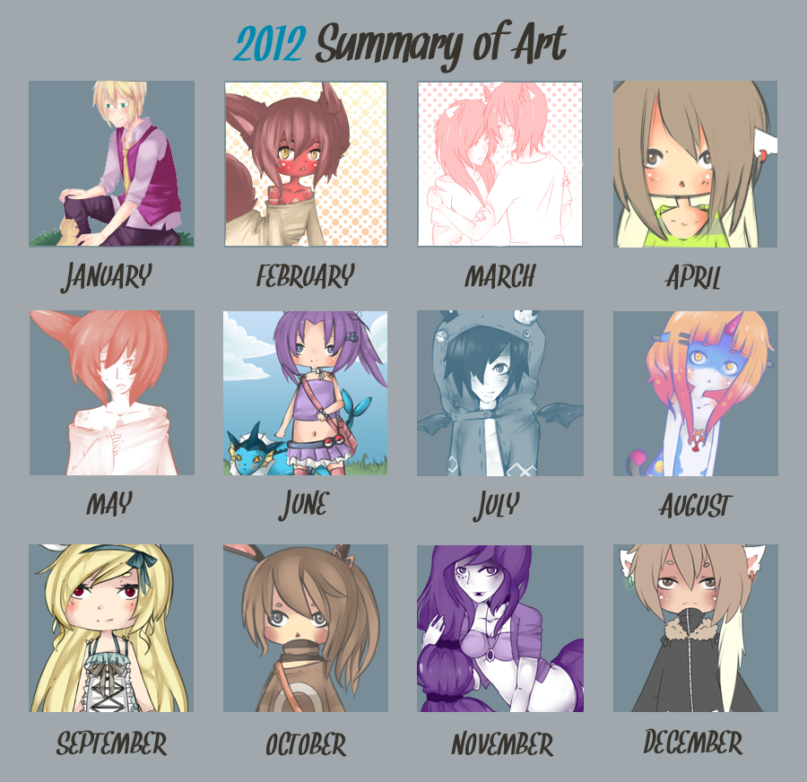 2012 Summary Of Art by WanNyan