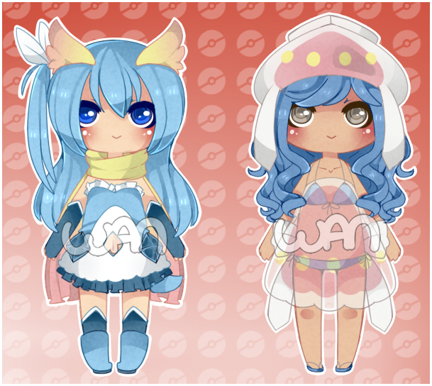 Reduced Pokegijinka Adopts [CLOSED] by WanNyan