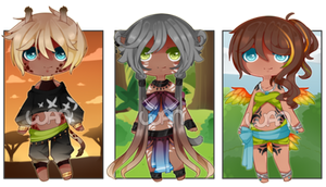 Exotic Kemonomimi Auction [CLOSED] by WanNyan