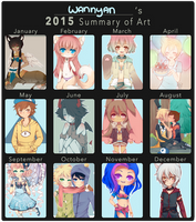 2015 Art Summary by WanNyan