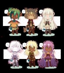 [OPEN 2/6] Fantasy Collab GeinWan Adopts