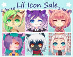 [OPEN] Lil Icon Sale! by WanNyan