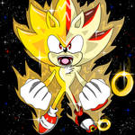 Super Sonic And Shadow
