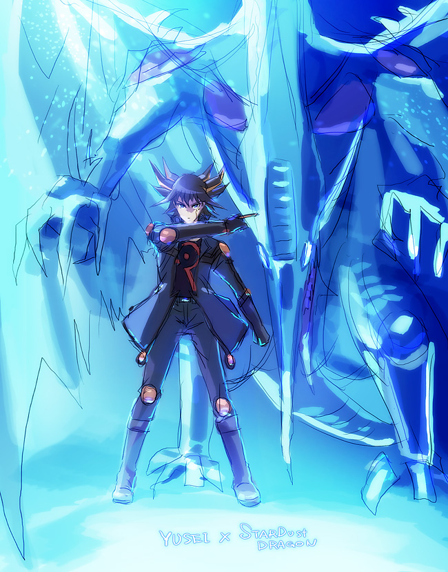 yugioh 5ds stardust dragon wallpaperYugioh 5ds Dragon Wallpaper