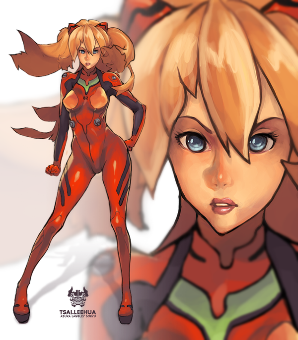 Asuka Langley by tsaileehua