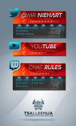 Twitch Stream Branding by tsaileehua