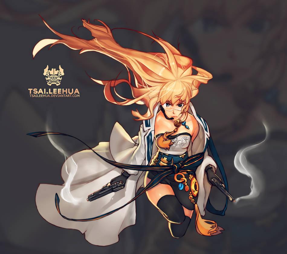 001 M/F Dungeon Fighter Female Gunner