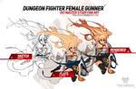 001 M/F Dungeon Fighter Female Gunner Process