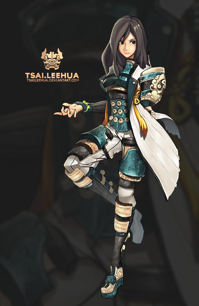 003 M/F Blade and Soul by tsaileehua