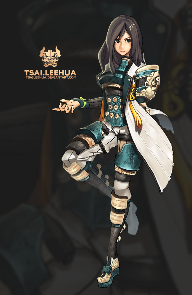 003 M/F Blade and Soul by tsaileehua on DeviantArt