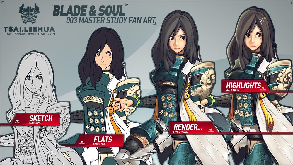 003 Blade and Soul Process by tsaileehua on DeviantArt
