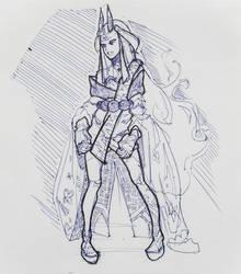 Ibaraki Douji Sketch