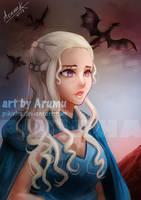 Daenerys by Pikirha