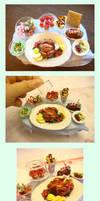 x'mas western feast by lololollipop