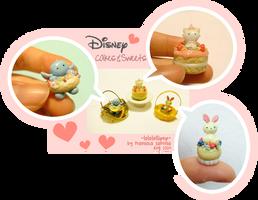 Disney Cakes n Sweets by lololollipop