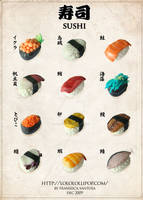 Clay Sushi Menu by lololollipop