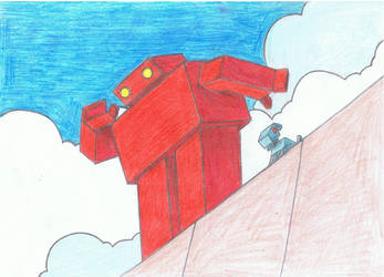 Red Robot by miknimator