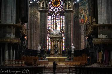Milan Duomo/ Cathedral interior shot by Elfsire