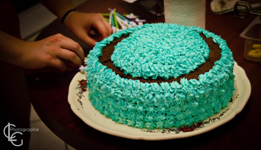 Birthday cake by ClaraLG