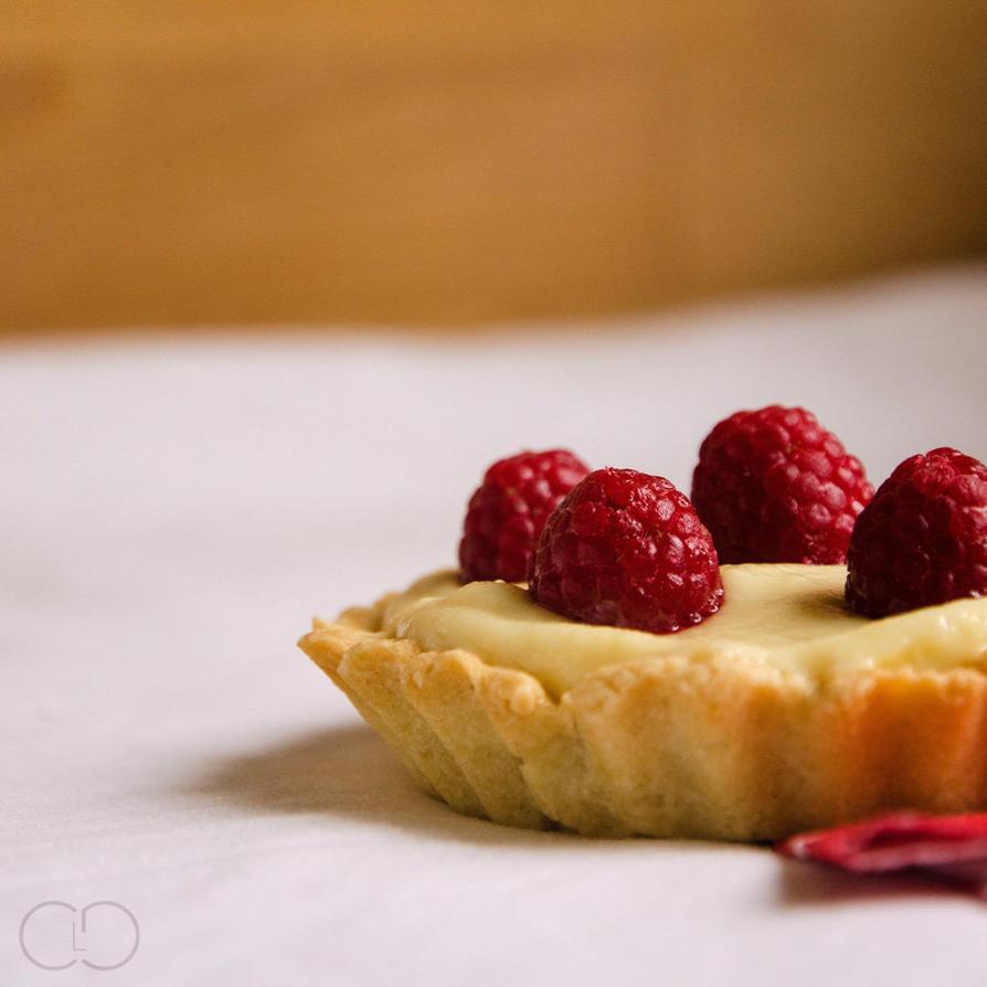 Tartelette creme Patissiere et Framboise by ClaraLG
