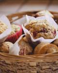 Muffins fraises framboises (+recipe)