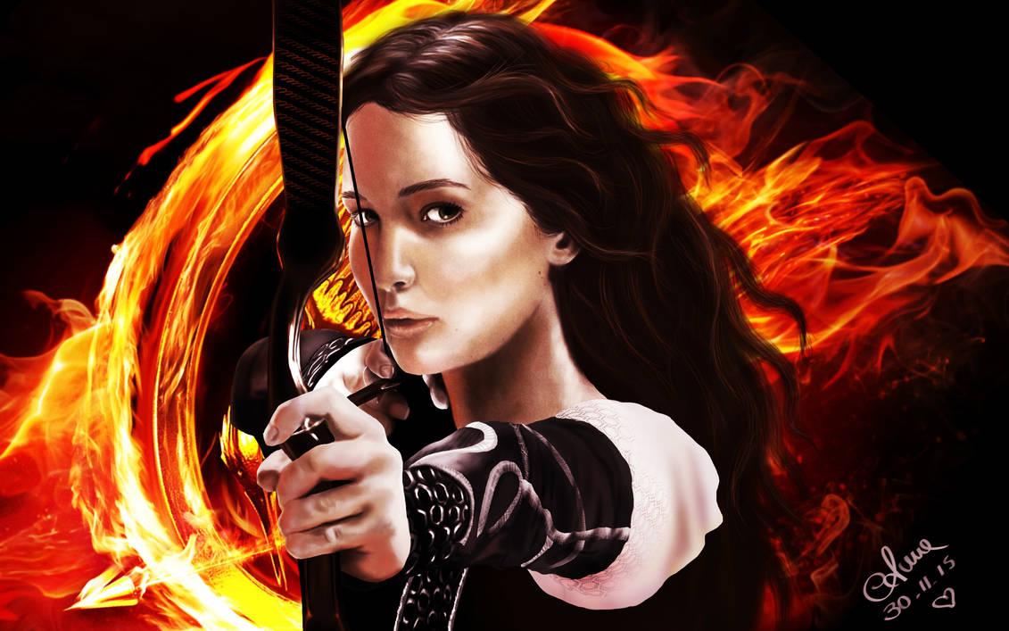 Katniss Everdeen - Hunger Games by annaluci