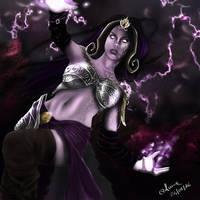 Liliana Vess_ Magic The Gathering by annaluci