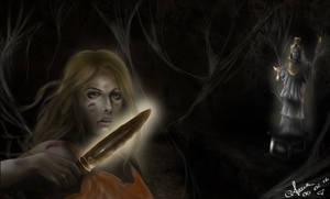 Annabeth Chase_ Mark of Athena by annaluci