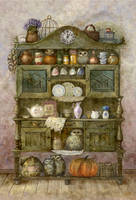 Buffet with owls by ArtGalla