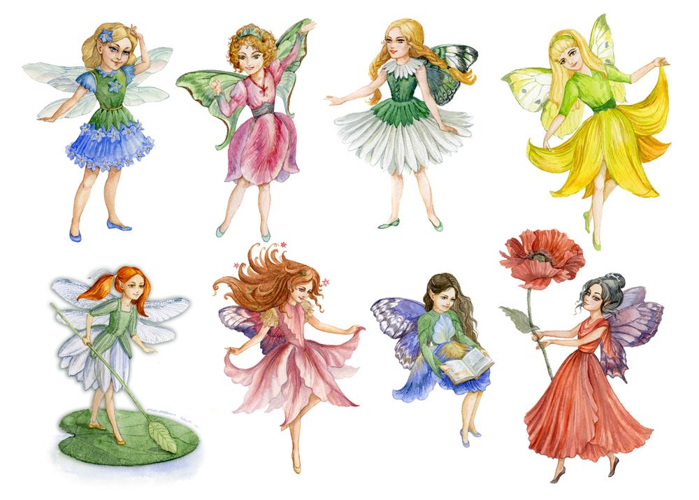 Flower Fairies by ArtG...