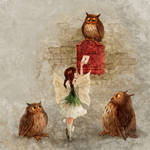Fairy and Owls