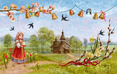 Russian Easter by ArtGalla