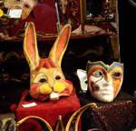 maskera coniglio