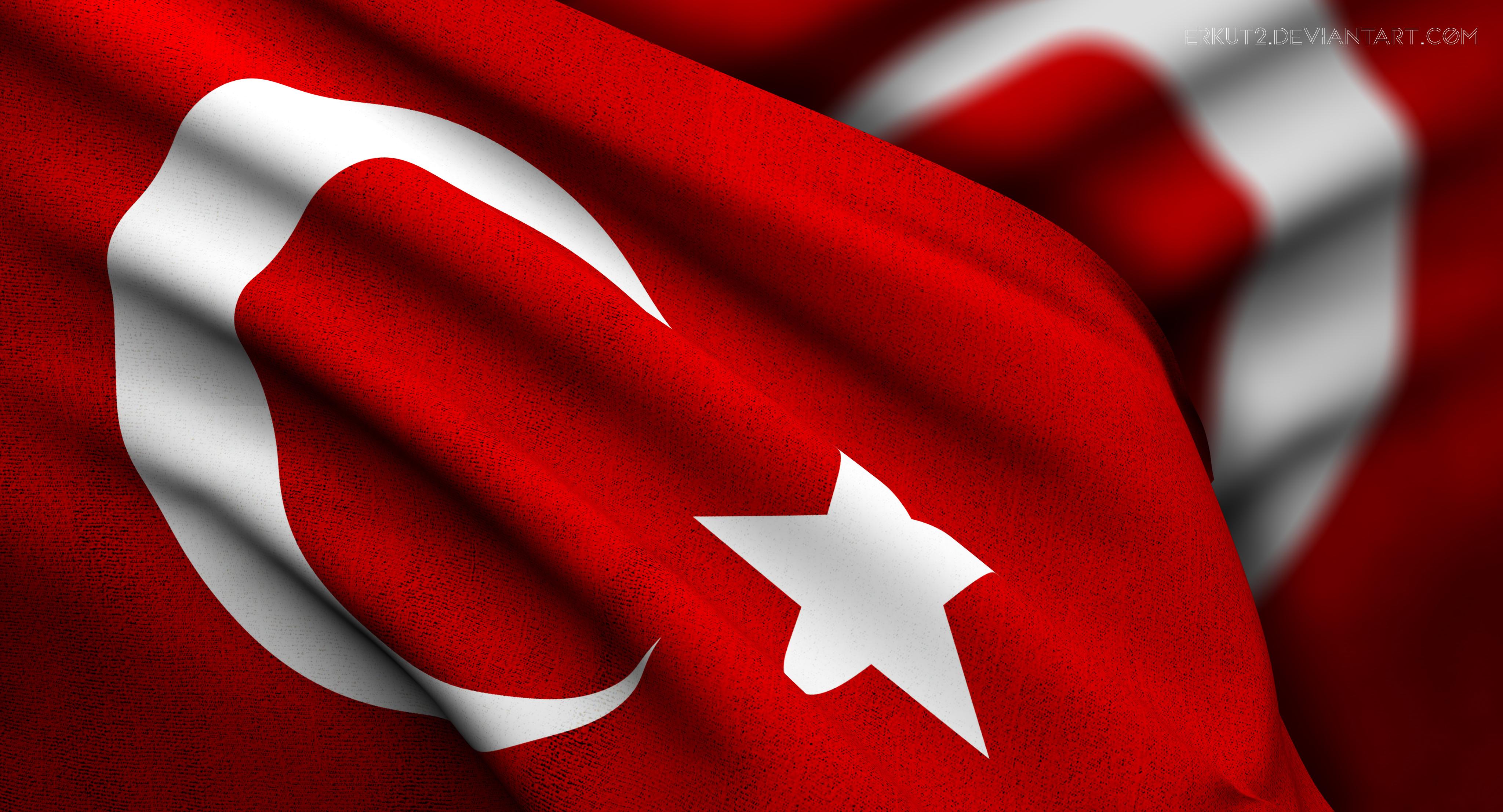 Türk Bayrağı Animasyon HD