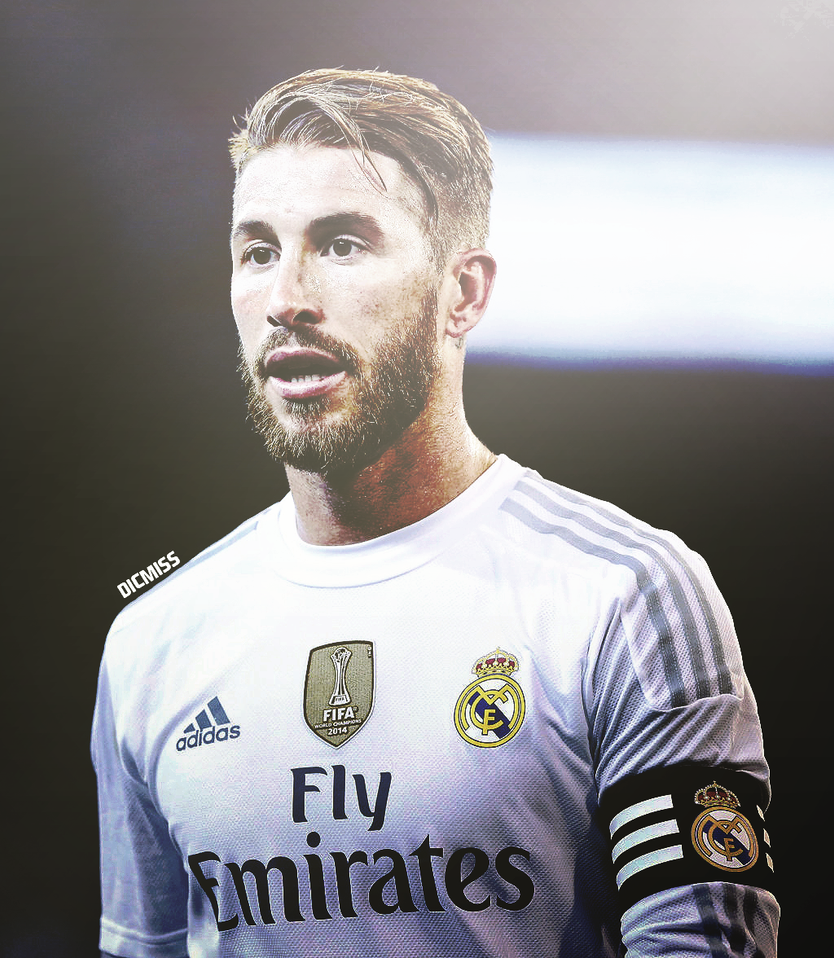 Sergio Ramos By Dicmiss