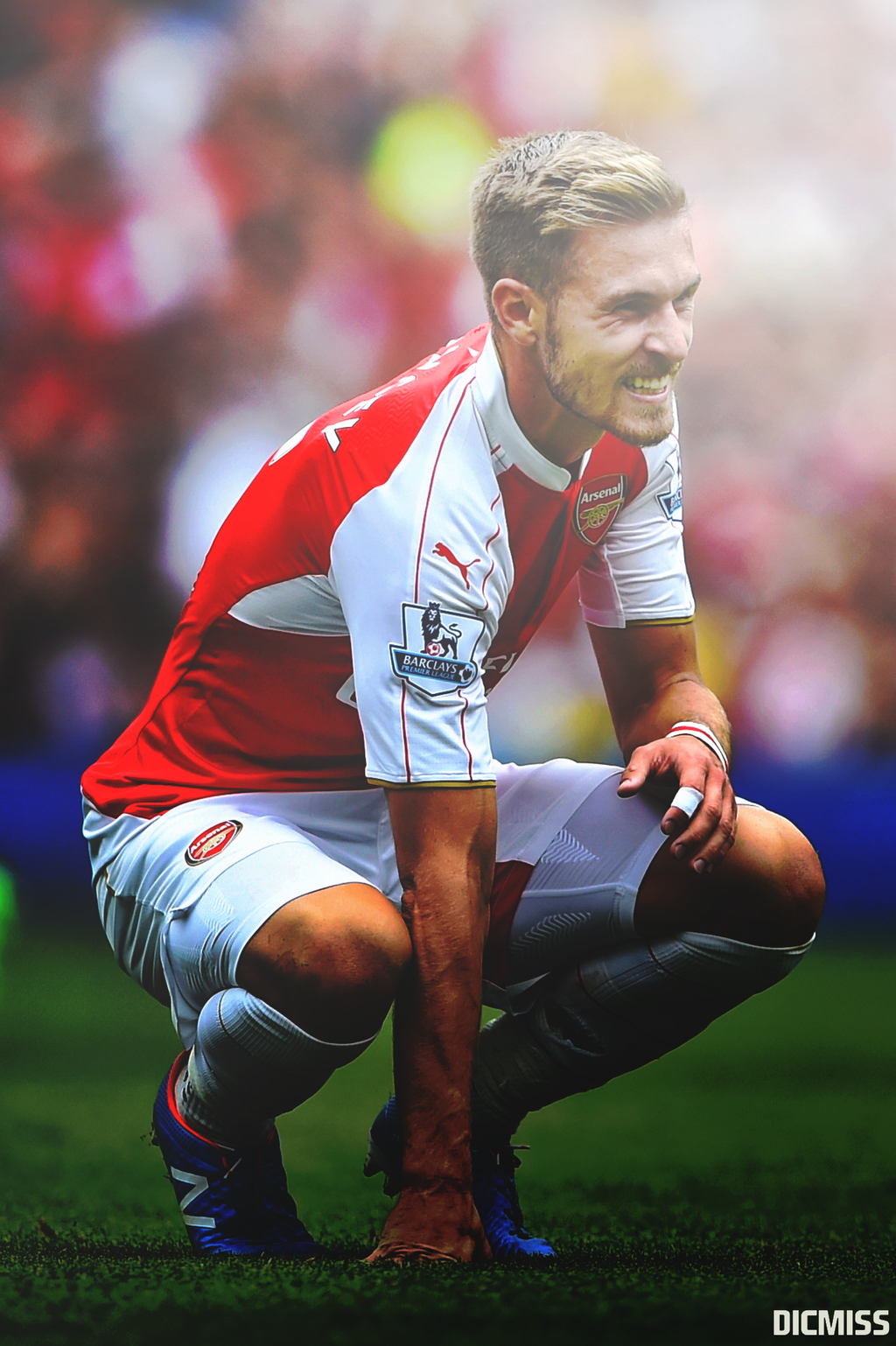 Aaron Ramsey by Dicmiss on DeviantArt