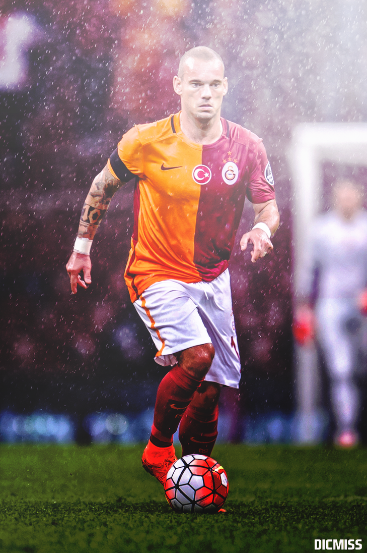Wesley Sneijder by Dicmiss on DeviantArt