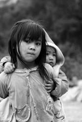 Children in Laos by PtiteCocci