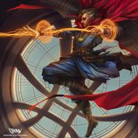 Doctor Strange by ChonnalisaArt