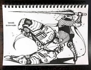 Cyborg Girl07