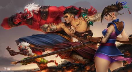 The Legend of  Muay Thai : 9Satra