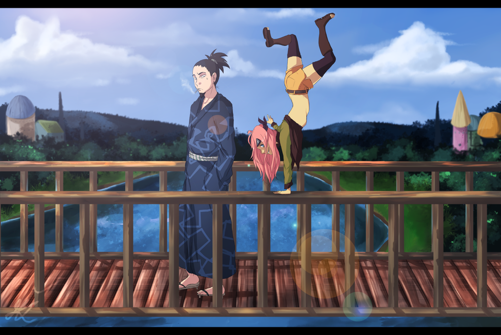 CM - Shikamaru and Miya by TejaMa
