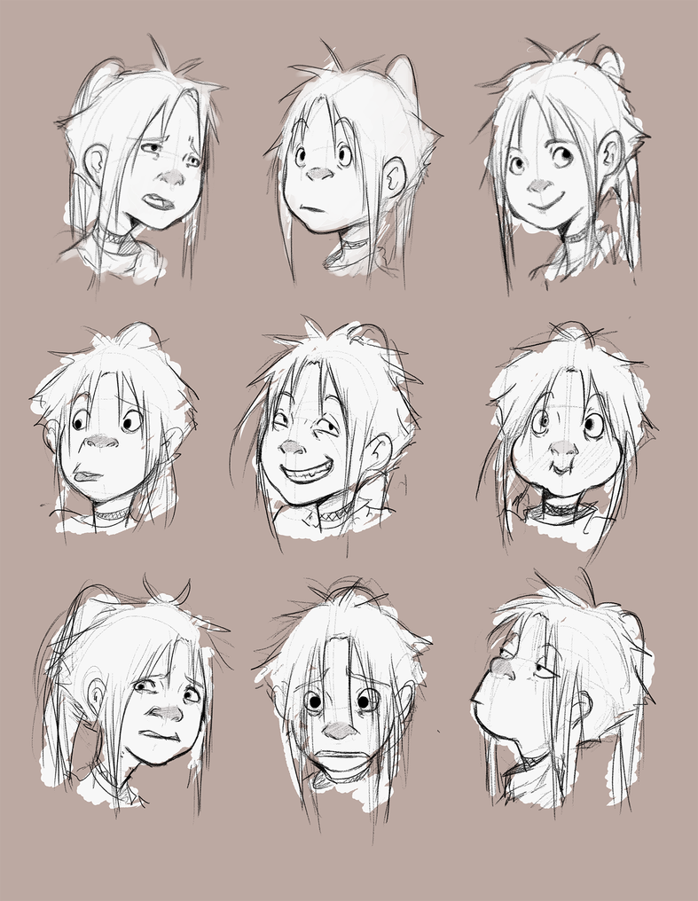 miranda expressions by TejaMa