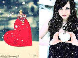 Winter love by hothayky