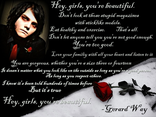 Gerard Way Beautiful Quote By Xswordxofxgoldx On DeviantArt
