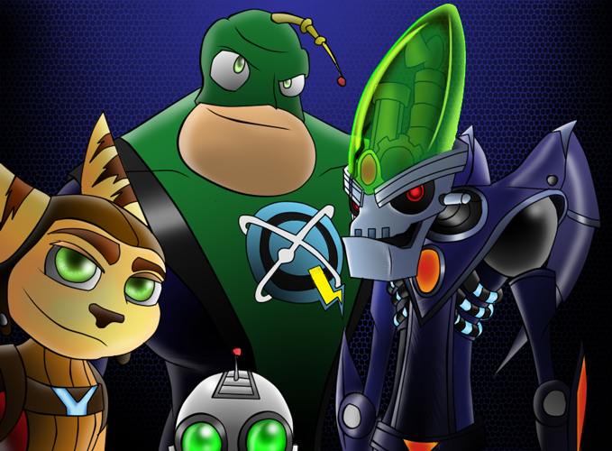 Ratchet And Clank All4one By Roboticmastermind On Deviantart
