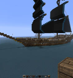 my Assassins creed 4 inspired ship