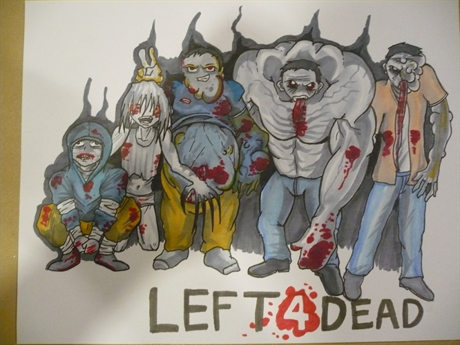Chibi left 4 dead Characters by daunted on DeviantArt