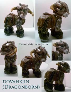 Dovahkiin Dragonborn Ooak Custom