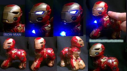 Iron Man Custom My little Pony